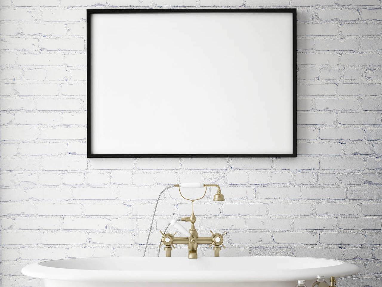 Amazon.de GAEKKO Bildaufhänger Bilder aufhängen im Badezimmer
