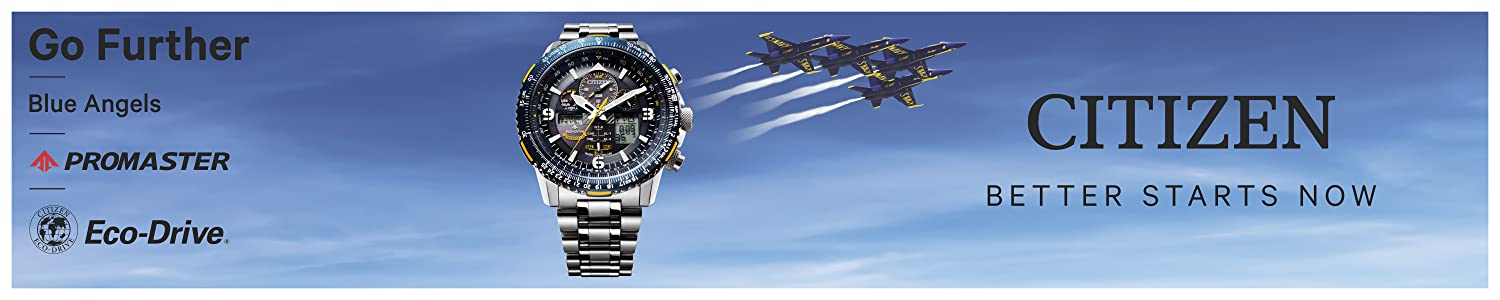 Visit the Eco-Drive collection and all the rest of the watches by Citizen at Amazon