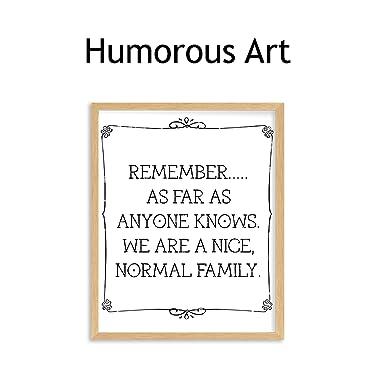 humorous & funny wall art