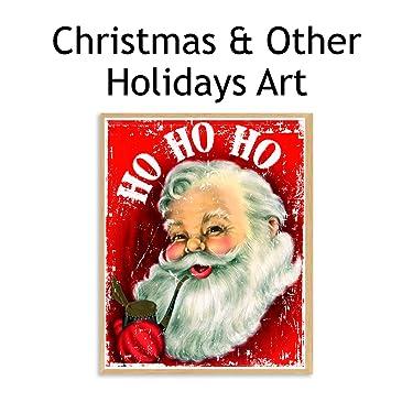christmas & holiday wall art