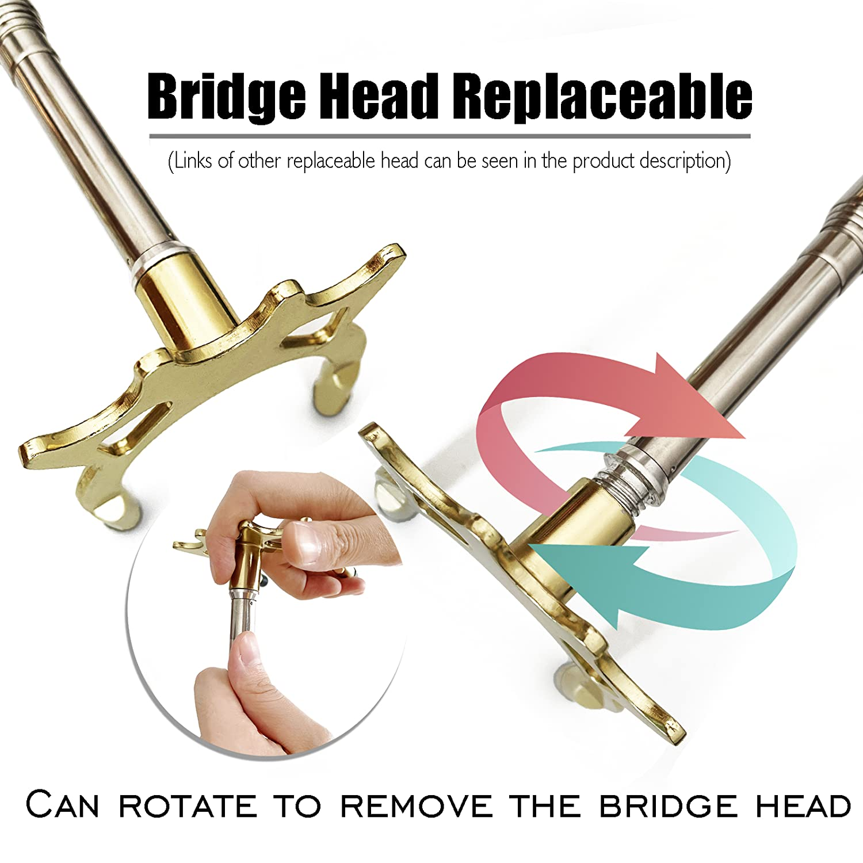 Billiards Pool Cue Accessory Tai ba cues Retractable Billiards Pool Cue Stick Bridge with Brass Bridge Head Replaceable Bridge Head