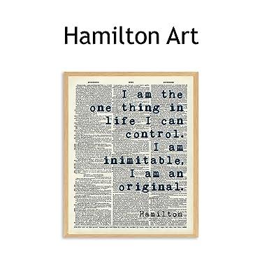 hamilton wall art
